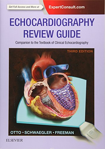 9780323227582: Echocardiography Review Guide: Companion to the Textbook of Clinical Echocardiography, 3e