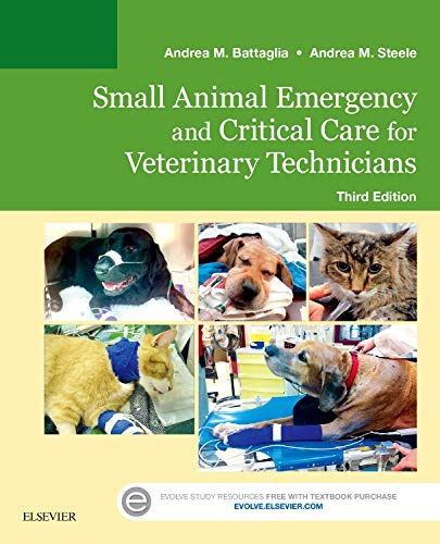 9780323227742: Small Animal Emergency and Critical Care for Veterinary Technicians, 3e