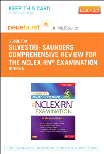 9780323228480: Saunders Comprehensive Review for the NCLEX-RN® Examination Elsevier Plus Evolve Access Code (Retail Access Cards), 6e