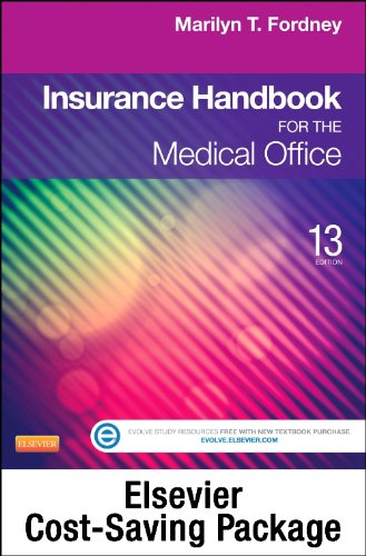 9780323228695: Medical Insurance Online for Insurance Handbook for the Medical Office (Access Code, Textbook, and Workbook Package), 13e