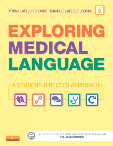 9780323228848: Exploring Medical Language - Text and Audio CDs Package: A Student-Directed Approach, 9e