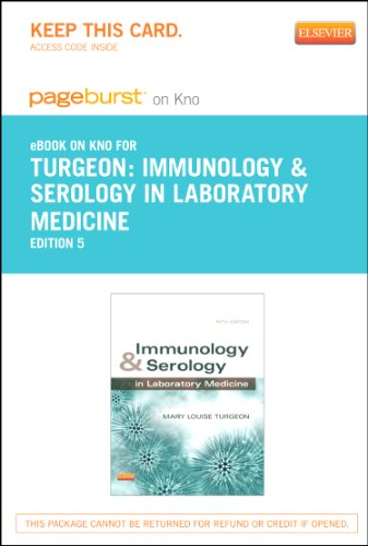 9780323239219: Immunology & Serology in Laboratory Medicine - Elsevier eBook on Intel Education Study (Retail Access Card), 5e