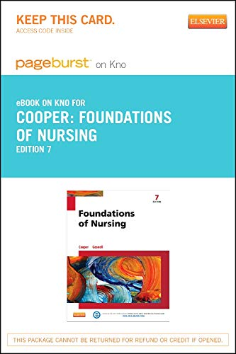 9780323239639: Foundations of Nursing - Elsevier eBook on Intel Education Study (Retail Access Card), 7e