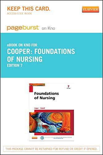 9780323239639: Foundations of Nursing - Pageburst E-Book on Kno (Retail Access Card), 7e