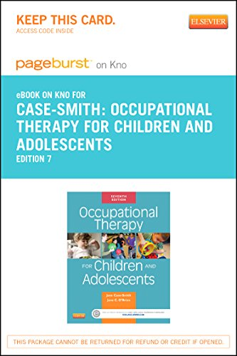9780323239967: Occupational Therapy for Children and Adolescents- Elsevier eBook on Intel Education Study (Retail Access Card), 7e