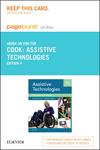 9780323239981: Assistive Technologies - Elsevier eBook on Intel Education Study (Retail Access Card): Principles and Practice, 4e