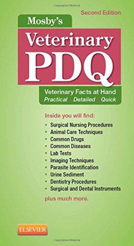 9780323240666: Mosby's Veterinary PDQ, 2e