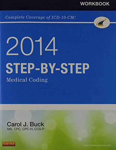 9780323240833: Step-by-Step Medical Coding 2014 Edition - Text and Workbook Package, 1e