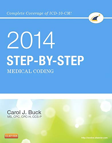 9780323240840: Medical Coding Online for Step-by-Step Medical Coding 2014 Edition (Access Code & Textbook Package), 1e
