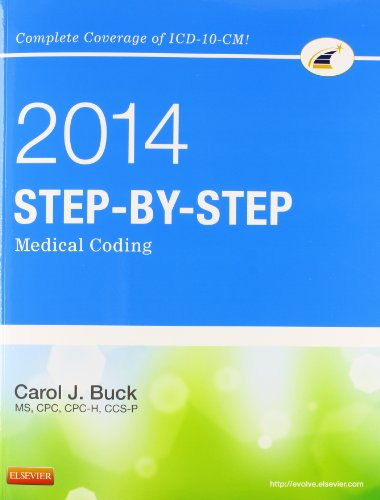 9780323240857: Medical Coding Online for Step-by-Step Medical Coding 2014 Edition (Access Code, Textbook and Workbook package), 1e