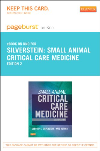 9780323243544: Small Animal Critical Care Medicine Pageburst on Kno Access Code