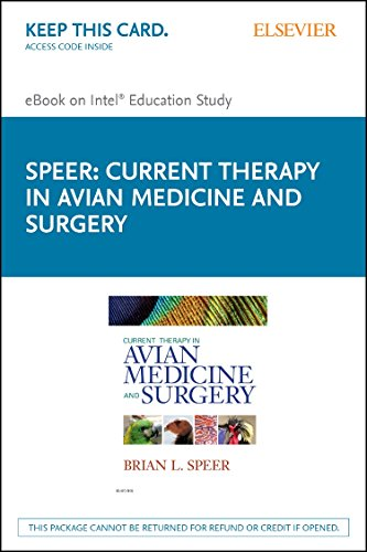 9780323243698: Current Therapy in Avian Medicine and Surgery - Elsevier eBook on Intel Education Study (Retail Access Card)