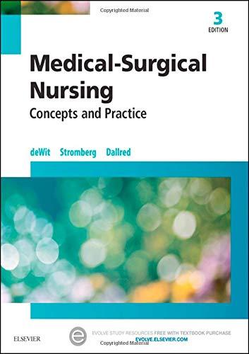9780323243780: Medical-Surgical Nursing: Concepts & Practice, 3e