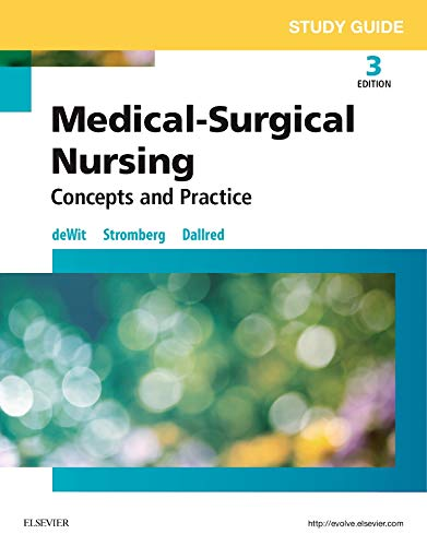 9780323243834: Study Guide for Medical-Surgical Nursing: Concepts and Practice, 3e