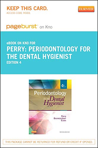 9780323243926: Periodontology for the Dental Hygienist - Elsevier eBook on Intel Education Study (Retail Access Card), 4e