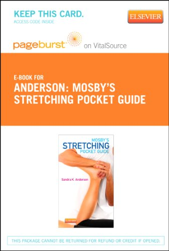 9780323244077: Mosby's Stretching Pocket Guide - Elsevier eBook on VitalSource (Retail Access Card), 1e