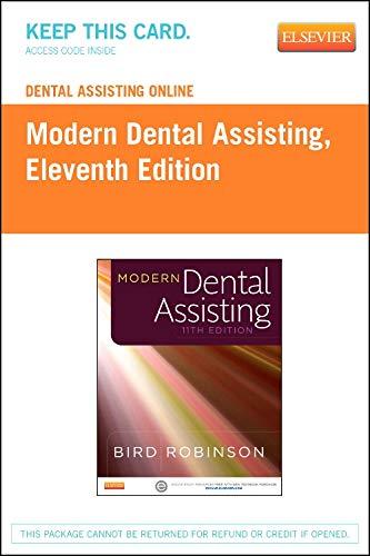 9780323244176: Dental Assisting Online for Modern Dental Assisting (Access Code), 11e