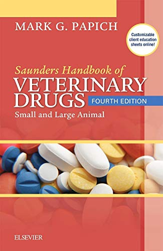 9780323244855: Saunders Handbook of Veterinary Drugs: Small and Large Animal, 4e (Handbook of Veterinary Drugs (Saunders))