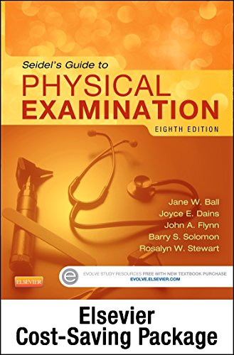 9780323244930: Physical Examination and Health Assessment Online for Seidel's Guide to Physical Examination (Access Code, and Textbook Package), 8e