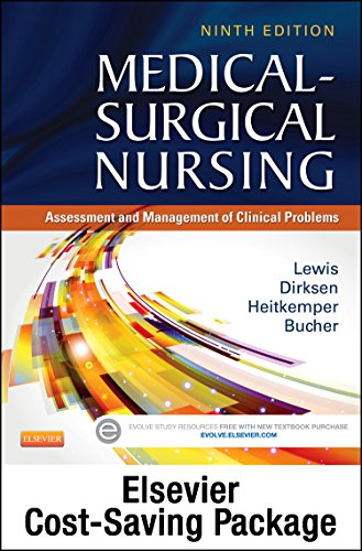 9780323249683: Medical-Surgical Nursing - Single-Volume Text and Elsevier Adaptive Quizzing Package, 9e
