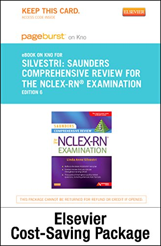 9780323260244: Saunders Comprehensive Review for the NCLEX-RN® Examination - Elsevier eBook on Intel Education Study + Evolve Access (Retail Access Cards), 6e
