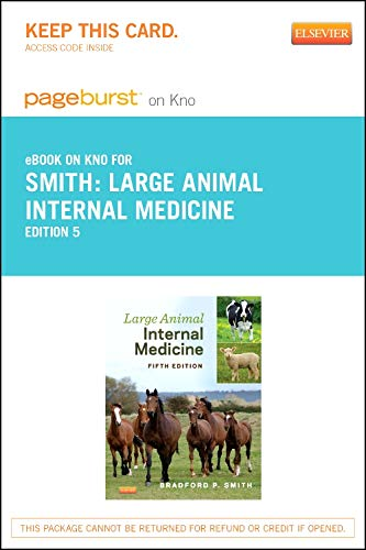 9780323262323: Large Animal Internal Medicine - Elsevier eBook on Intel Education Study (Retail Access Card), 5e