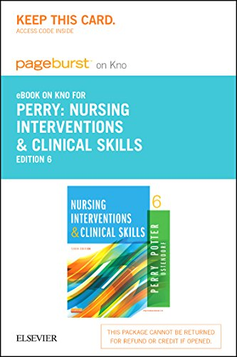 9780323262439: Nursing Interventions & Clinical Skills - Elsevier eBook on Intel Education Study (Retail Access Card), 6e