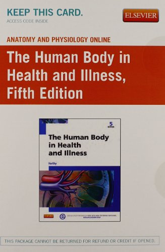 9780323262552: Anatomy & Physiology Online for The Human Body in Health and Illness (Access Code, and Textbook Package), 5e