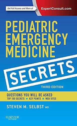 9780323262842: Pediatric Emergency Medicine Secrets, 3rd Edition