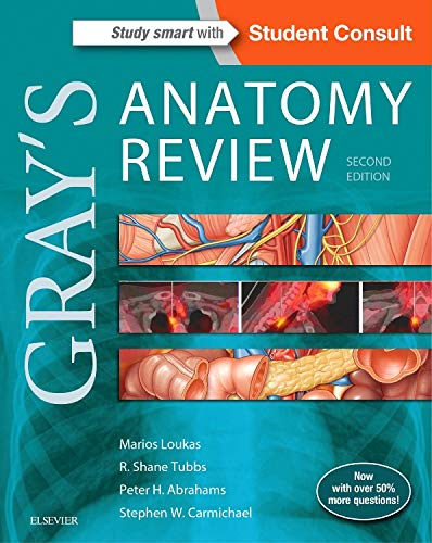 9780323277884: Gray's Anatomy Review: with STUDENT CONSULT Online Access, 2e
