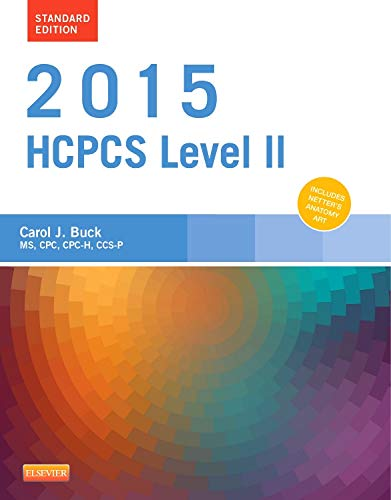 9780323279840: 2015 HCPCS Level II Standard Edition, 1e (Hcpcs Level II (Saunders))