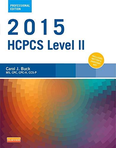 9780323279864: 2015 HCPCS Level II Professional Edition, 1e (Hcpcs Level II (American Medical Assn))