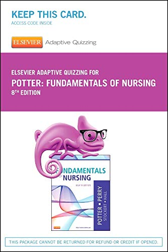 9780323280013: Elsevier Adaptive Quizzing for Fundamentals of Nursing (Retail Access Card), 8e
