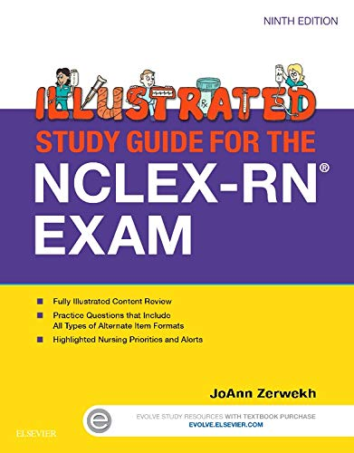 9780323280105: Illustrated Study Guide for the NCLEX-RN® Exam, 9e