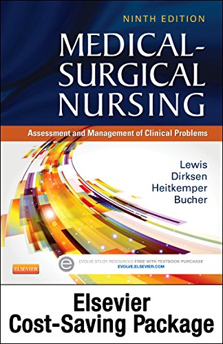 9780323280327: Medical-Surgical Nursing – Single-Volume Text and Elsevier Adaptive Learning and Quizzing Package (Retail Access Card), 9e