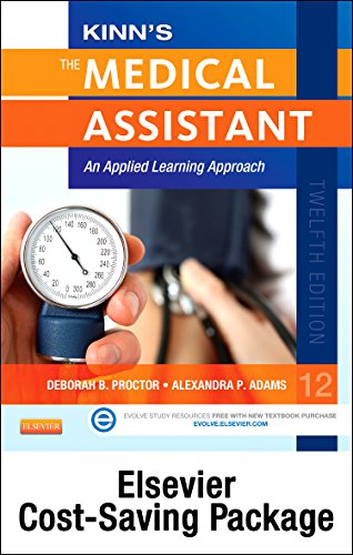 9780323280365: Kinn's The Medical Assistant - Book, Study Guide, Checklist, and SimChart for the Medical Office Package with ICD-10 Supplement: An Applied Learning Approach