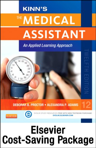 9780323280402: Virtual Medical Office for Kinn's The Medical Assistant - (Access Code, Textbook, and Study Guide & Checklist Package) with ICD-10 Supplement, 12e