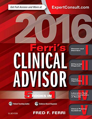 9780323280471: Ferri's Clinical Advisor 2016: 5 Books in 1, 1e