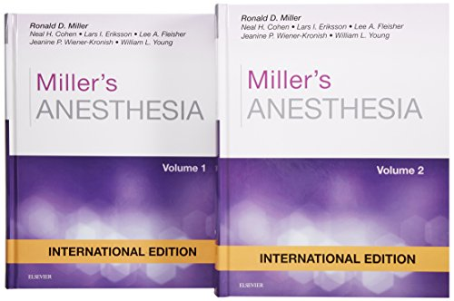 9780323280785: Miller's Anesthesia Eighth Edition - 2 Volume Set (International Edition)