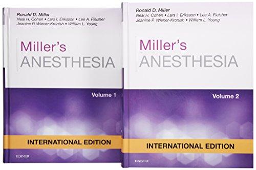 9780323280785: Miller's Anesthesia International Edition, 2 Volume Set