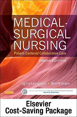 9780323280891: Medical-Surgical Nursing -- Single-Volume Text and Elsevier Adaptive Quizzing Package, 8e