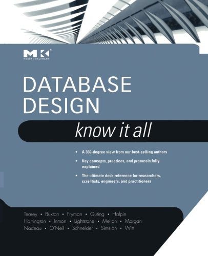 9780323281294: Database Design: Know It All