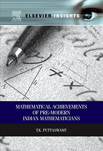 9780323282642: Mathematical Achievements of Pre-modern Indian Mathematicians