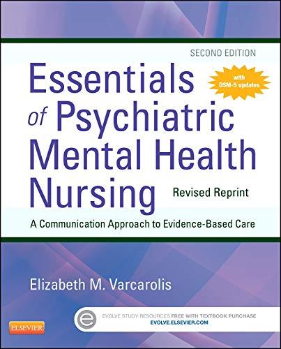 9780323287883: Essentials of Psychiatric Mental Health Nursing - Revised Reprint, 2e