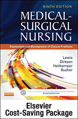 9780323288583: Medical-Surgical Nursing - Single-Volume Text and Elsevier Adaptive Learning Package, 9e