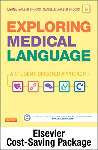 9780323288996: Exploring Medical Language - Text and Elsevier Adaptive Learning Package, 9e