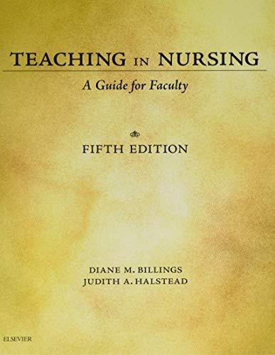 9780323290548: Teaching in Nursing: A Guide for Faculty, 5e