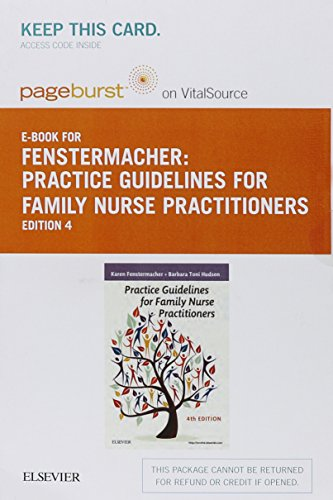 9780323291880: Practice Guidelines for Family Nurse Practitioners - Elsevier eBook on VitalSource (Retail Access Card)
