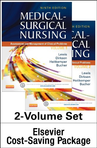 9780323294577: Medical-Surgical Nursing - Two-Volume Text and Study Guide Package: Assessment and Management of Clinical Problems, 9e