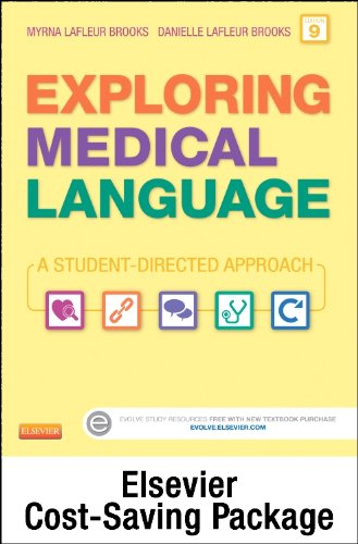 9780323295505: Medical Terminology Online for Exploring Medical Language (Access Code and Textbook Package), 9e